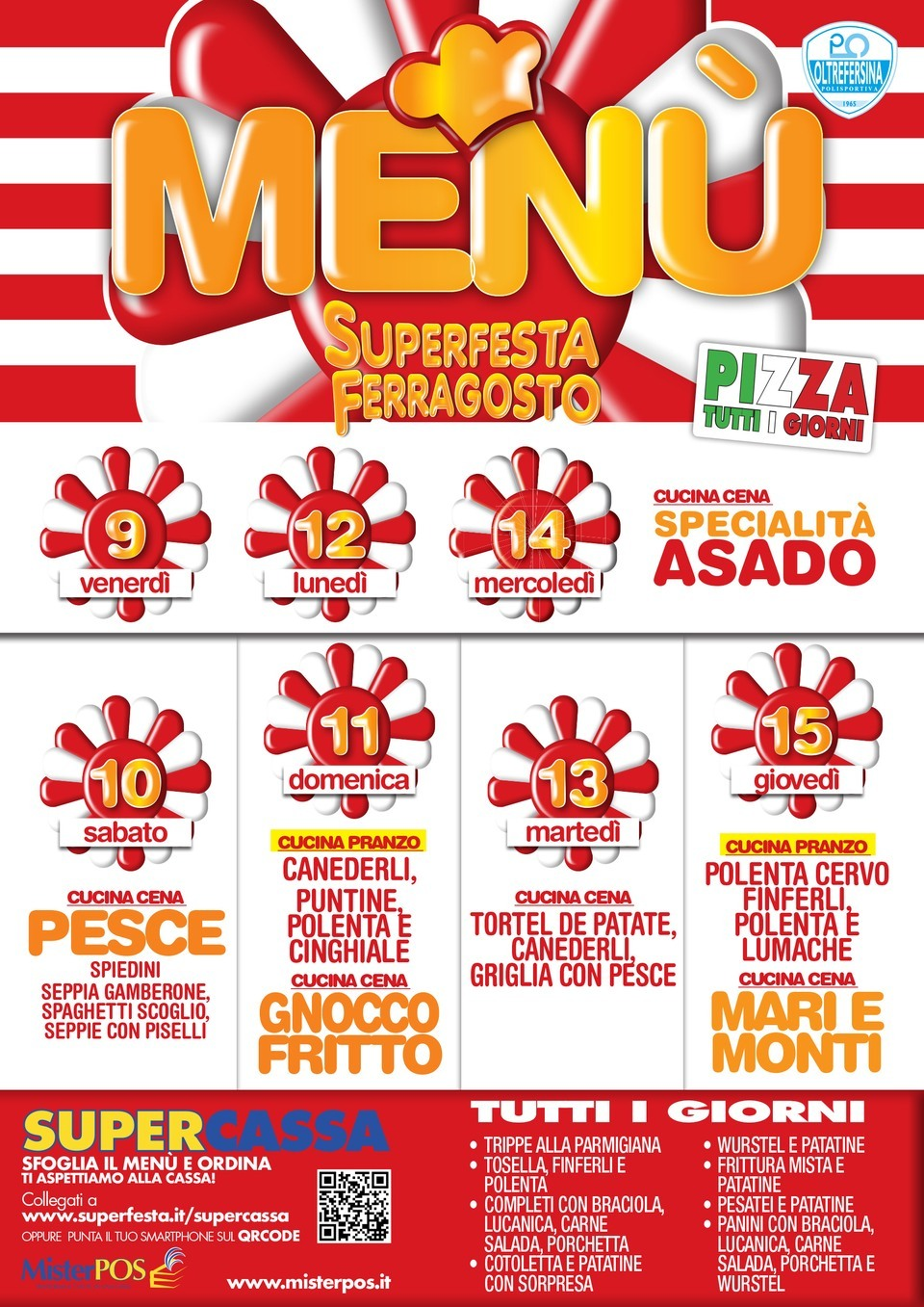 menu superfesta 2019